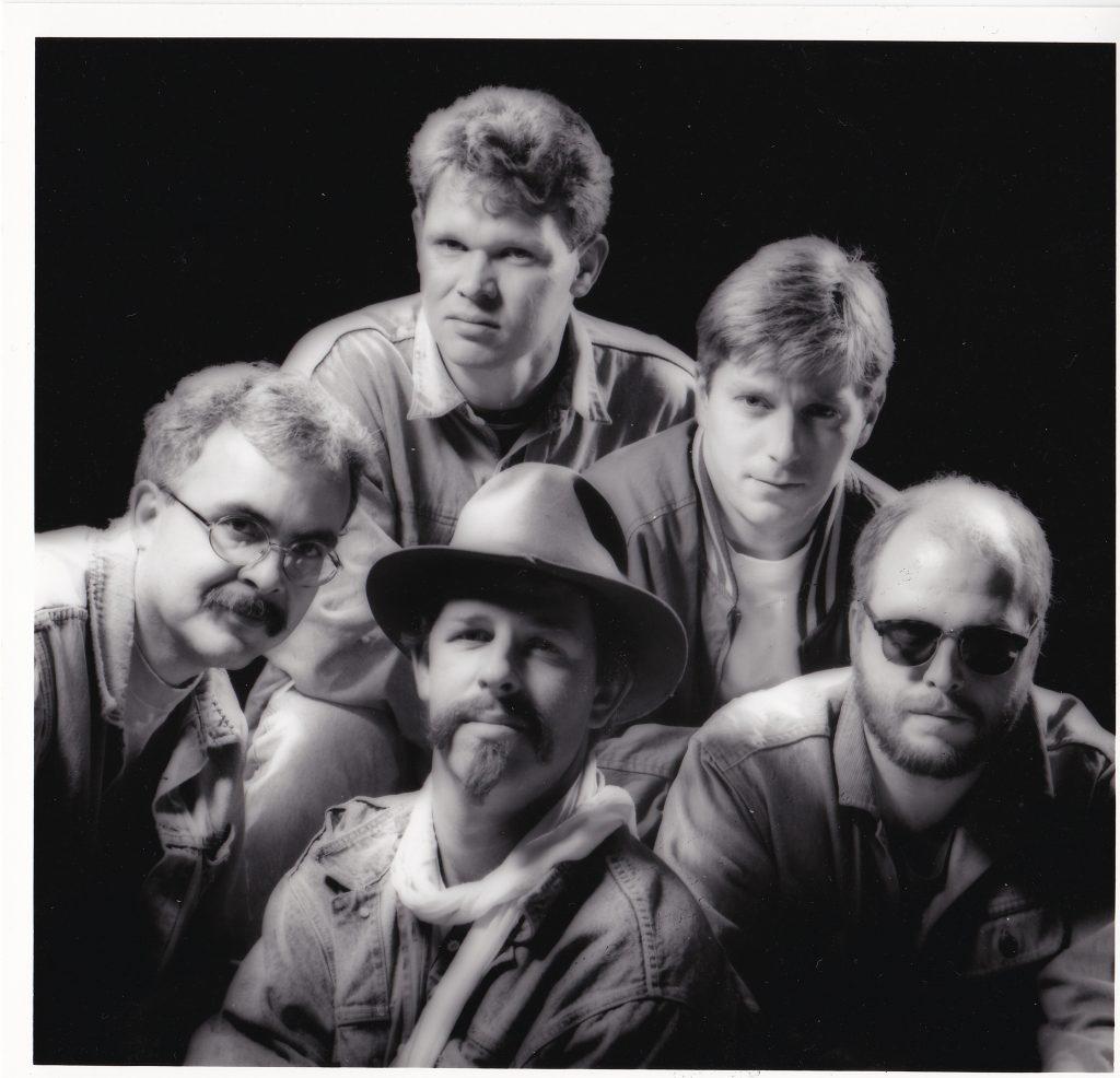 1992 - vlnr. Leo Roodhof, Pyt Palstra, Henk Osinga, Frank Bergkamp, Herman Driesten