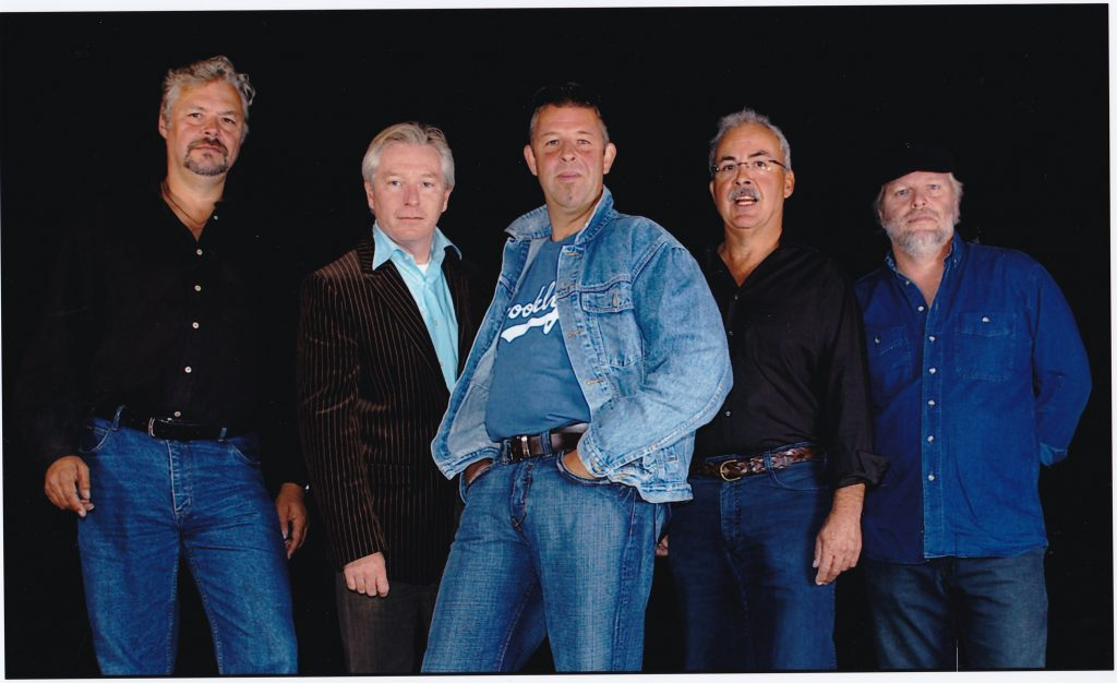 2006 - vlnr. Anton, Frank Bergkamp, Henk Osinga, Herman Driesten